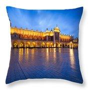 krakow 'IV Throw Pillow