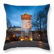 krakow 'X Throw Pillow
