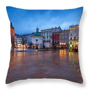 krakow 'XII Throw Pillow