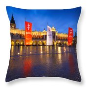 krakow 'XIII Throw Pillow