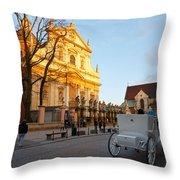 krakow 'XIX Throw Pillow