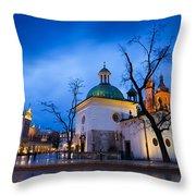 krakow 'XVI Throw Pillow