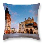 krakow 'XVIII Throw Pillow