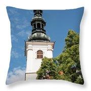 Krems Dom Der Wachau Throw Pillow