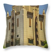 Kress Building Throw Pillow