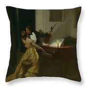 Kreutzer Sonata Throw Pillow