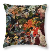 Krieg Throw Pillow