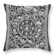 Krishna Leela 3 Throw Pillow