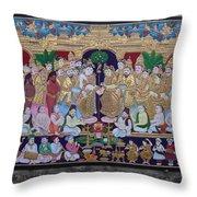 Krishna Marriage  Throw Pillow