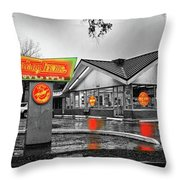Krispy Kreme Throw Pillow