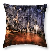 Krka National Park Throw Pillow