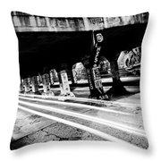 Krog Street Bridge Throw Pillow