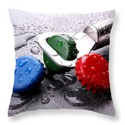 Kron Cork Throw Pillow