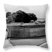 Kronborg Castle 3 Throw Pillow