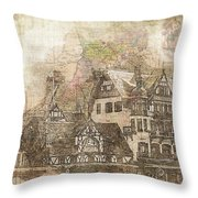 Krone Throw Pillow