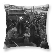 Kronstadt Mutiny, 1921 Throw Pillow