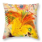 Krutika Throw Pillow