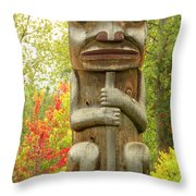 Ksan Hues Throw Pillow