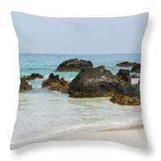 Kua Bay 13 Throw Pillow