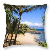 Kuau Cove Throw Pillow