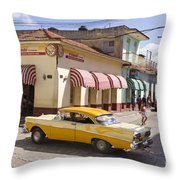 Kuba Trinidad Throw Pillow
