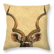 Kudu Throw Pillow