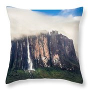 Kukenan Waterfall Throw Pillow