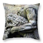 Kuks Forest Sculptures Throw Pillow