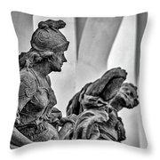 Kuks Statues - Czechia Throw Pillow