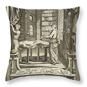 Kulmus About Perform Autopsy, 18th Throw Pillow