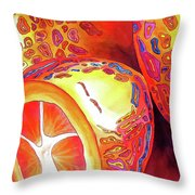Kumquats Throw Pillow