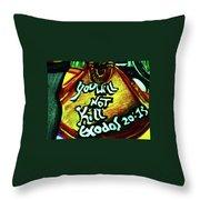 Kunsthaus Throw Pillow