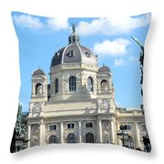 Kunsthistoriches Museum Vienna Throw Pillow