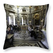 Kunsthistorische Museum Cafe Throw Pillow