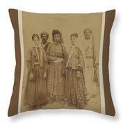 Kurdish Pheasants Throw Pillow