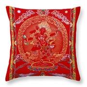 Kurukulle Devi Throw Pillow
