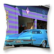 Kustom On The Riviera  Throw Pillow