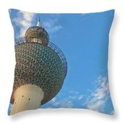 Kuwait Towers Throw Pillow