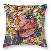 Kuziana Throw Pillow