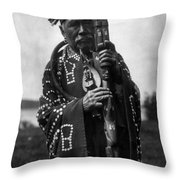 Kwakiutl Chief, C1914 Throw Pillow