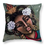 Kwan Yin Throw Pillow