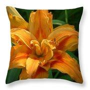 Kwanzaa Lily Throw Pillow