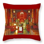 Kwon Yin Temple 1 Throw Pillow