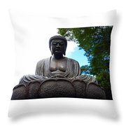 Kwon Yin Temple 7 Throw Pillow