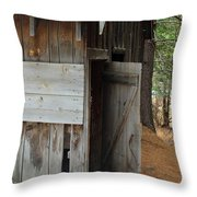 Kyburz Barn 3 Throw Pillow