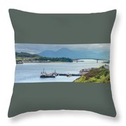 Kyle Of Lochalsh And The Isle Of Skye, Throw Pillow