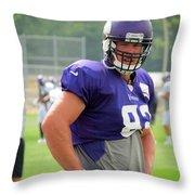 Kyle Rudolph Throw Pillow