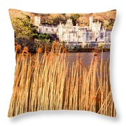 Kylemore Abbey, County Galway Throw Pillow