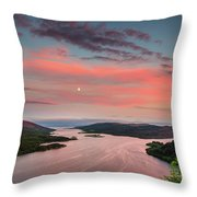 Kyles Of Bute In Twilight Throw Pillow