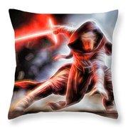 Kylo Ren I Will Fulfill Our Destiny Throw Pillow
